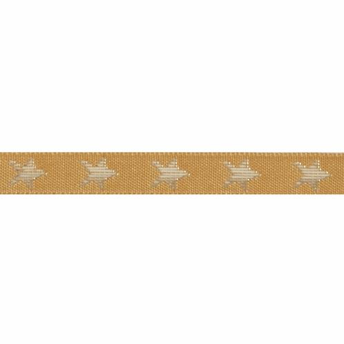 Glitter Stars Ribbon 10mm