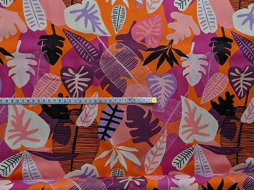 Jungle Heatwave Pink Craft Cotton