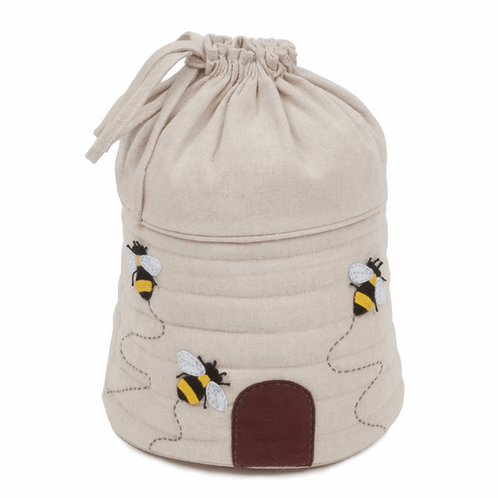 Beehive Drawstring Storage Bag