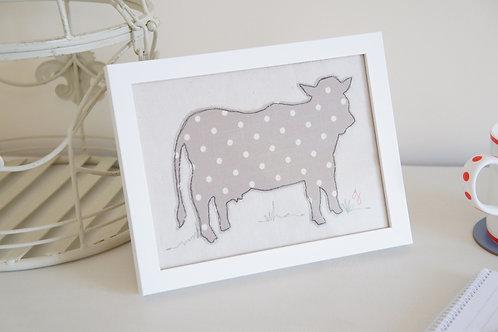 Textile Cow Frame