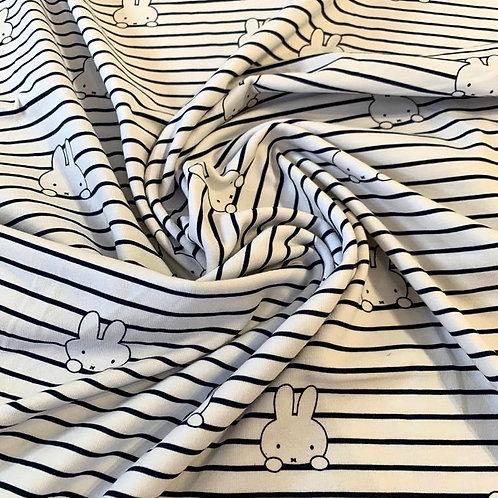 Miffy Stripe Organic Jersey