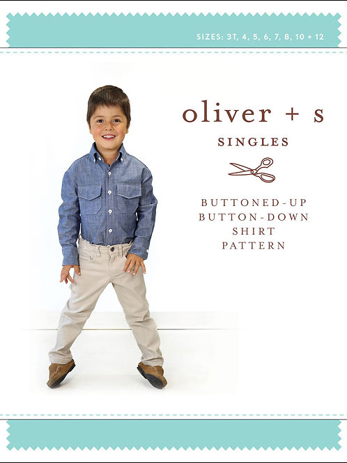 Oliver+S - Boy's Buttoned Shirt Pattern