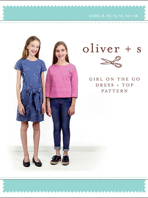 Oliver+S - Girl's Dress & Top Pattern