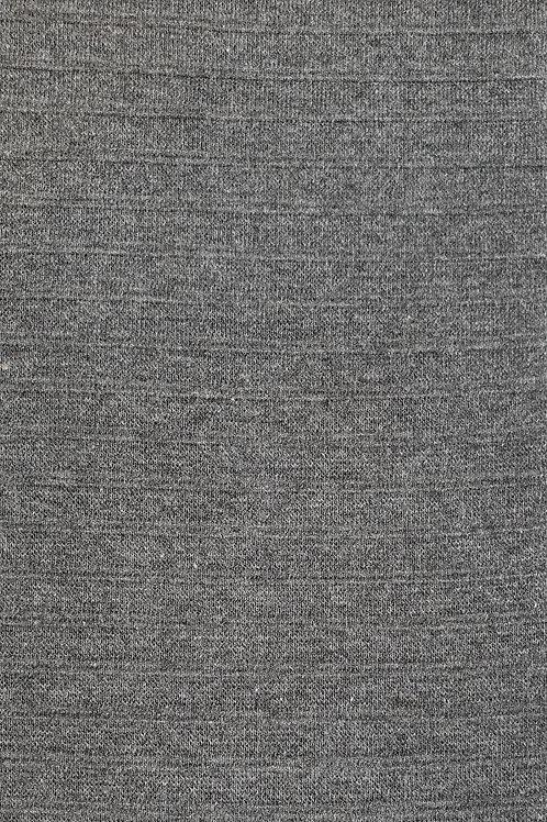 Striped Grey Ribbing