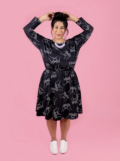 Lotta Dress Printed Pattern
