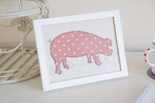 Textile Pig Frame