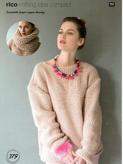 Rico 379 Knitting Pattern.