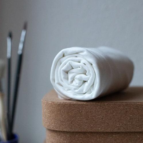 MeetMILK Luxury Tencel Jersey PLAIN WHITE