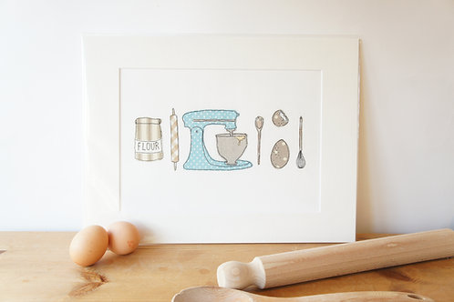 Baking Print Limited Edition