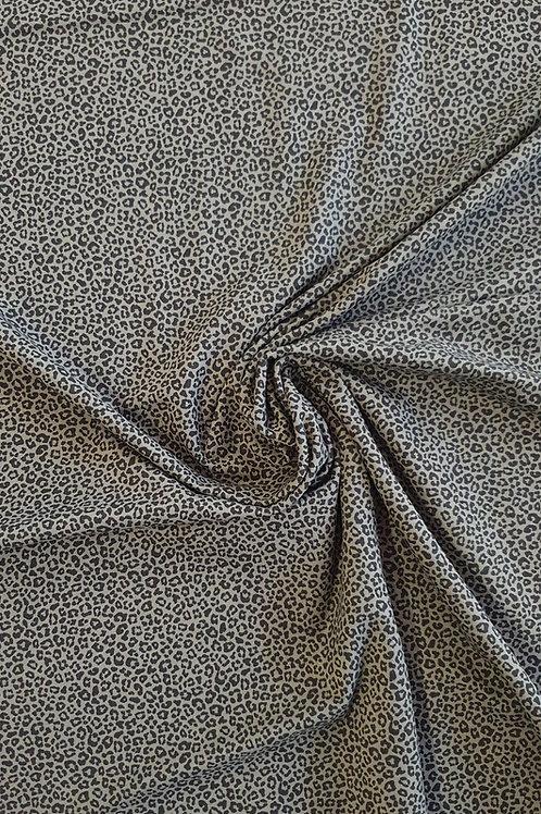 Olive Leopard Print Jersey