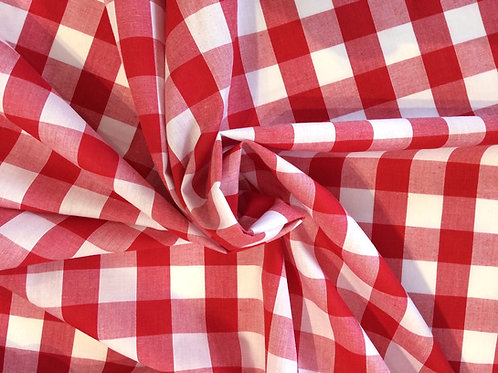 Red Cotton Gingham