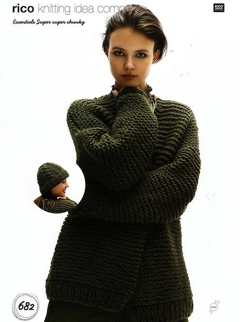 Rico 682 Knitting Pattern.