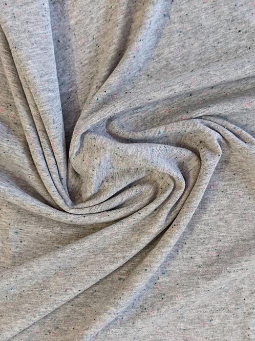 REMNANT - Grey Flecks Jersey