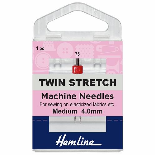 Machine Needles TWIN Stretch