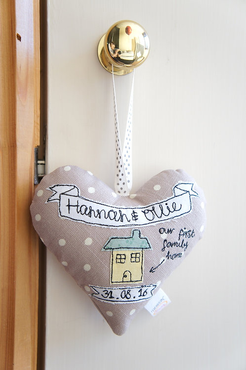 New Home Heart Decoration