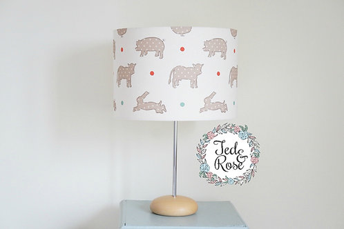 Lampshade On the Farm©