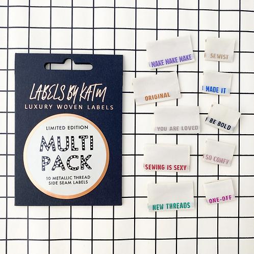 KATM Labels - Metallic Multi Pack