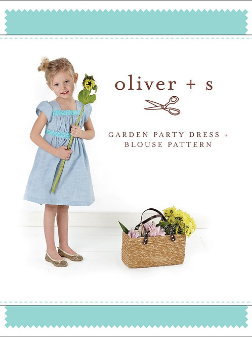 Oliver+S - Girl's Garden Party Dress & Blouse Pattern