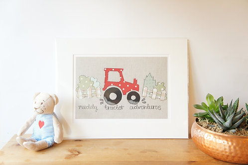 Tractor Print Limited Edition