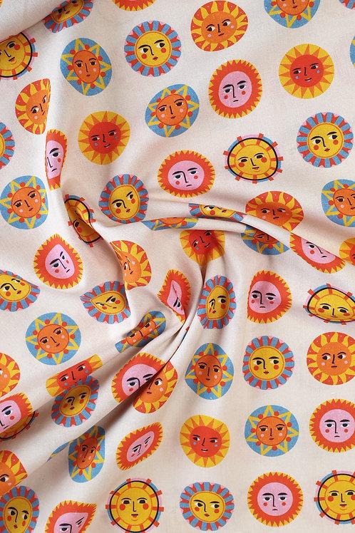 Sunshine Faces Print Cotton