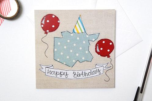 Birthday Cow Card