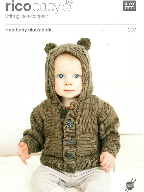 Rico Baby 200 Knitting Pattern.