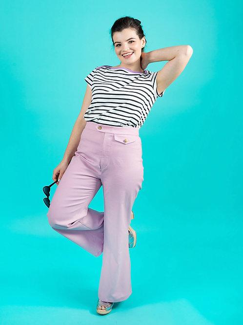 Jessa Trousers Printed Pattern