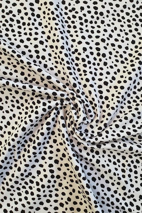 Dalmatian Print Jersey