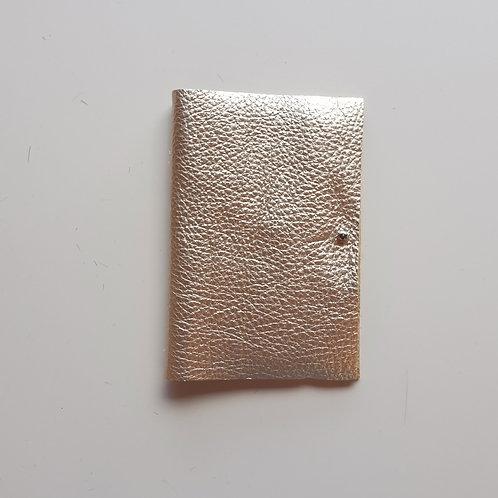 Metallic Leather Needle Case