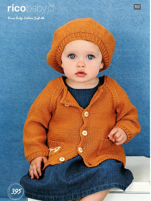 Rico Baby 395 Knitting Pattern.