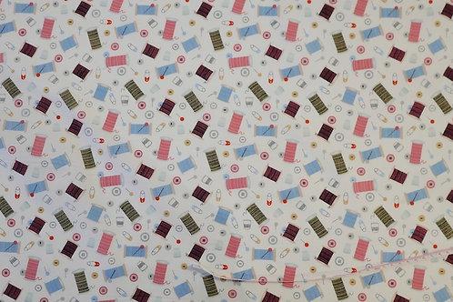 Cotton Poplin 'Sewing'