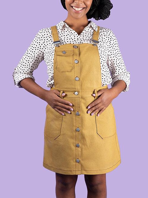 Bobbi Pinafore & Skirt Printed Pattern