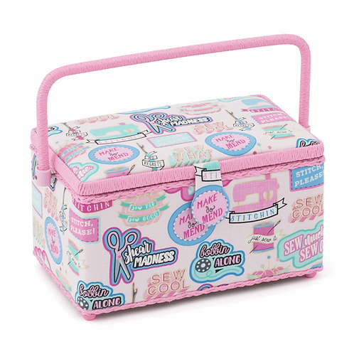 Funky Pink Sewing Box
