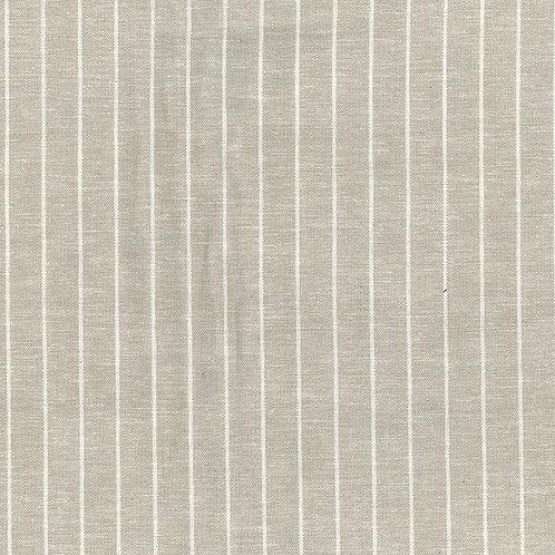 Striped Linen Viscose BEIGE