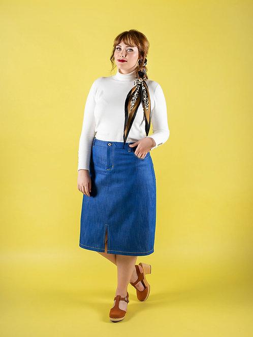 Ness Skirt Printed Pattern