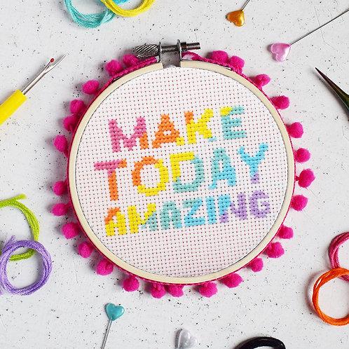 Make Today Amazing Cross-stitch Kit