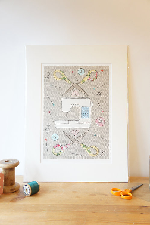 Sewing Print Limited Edition