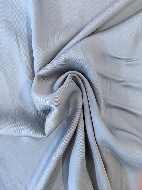 Pale Blue Tencel Twill