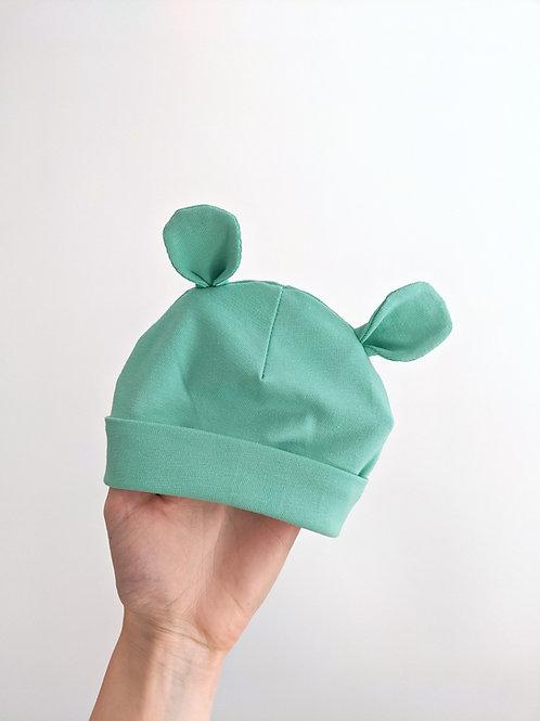 Baby Bear Ears Hat Template