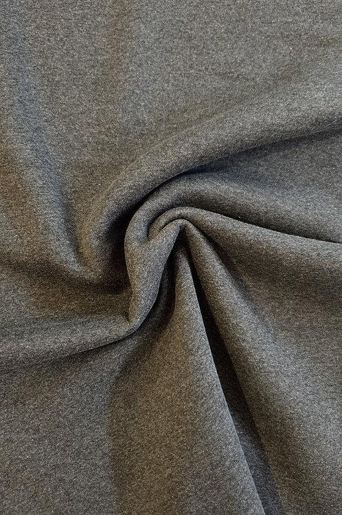 Dark Grey Sweatshirting