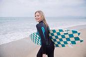 Gehen zum Surfen