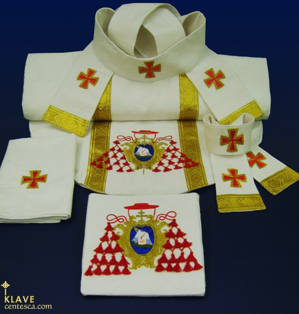 Five Piece Vestment Set