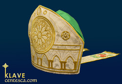 Rose Window Mitre