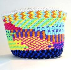 Rainbow basket