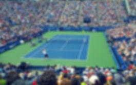 Saque do tênis