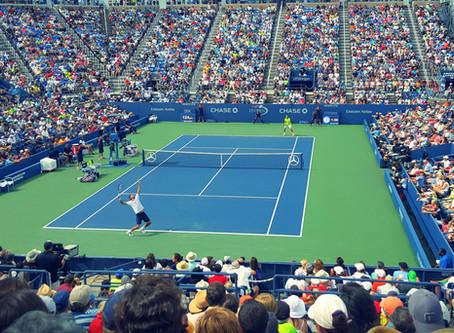 Трик-шоты в большом теннисе