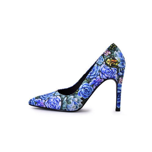 "Zapato Tacón  ""Suculentas"""