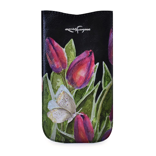 "Funda celular ""Tulipanes"""