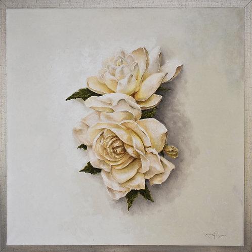 Magnolias mostrando su interior