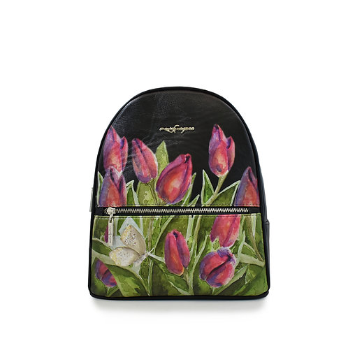 "Backpack ""Tulipanes"""